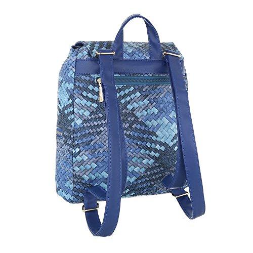 Taschen Schultertasche Modell Nr.1 Blau