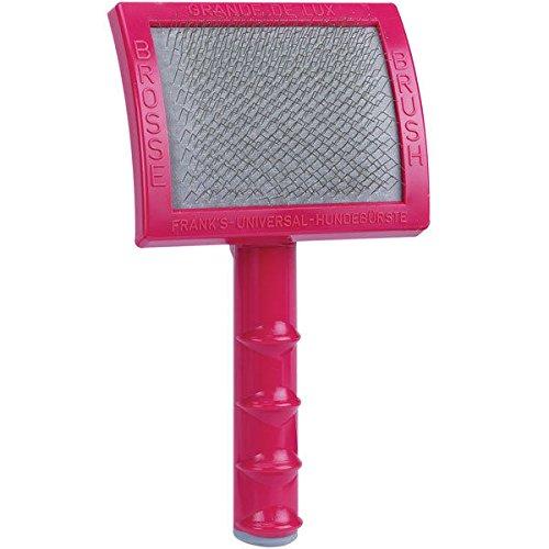 Pink Grand Deluxe Premium Dog Grooming Slicker Brush Lightweight Groomers Tool -