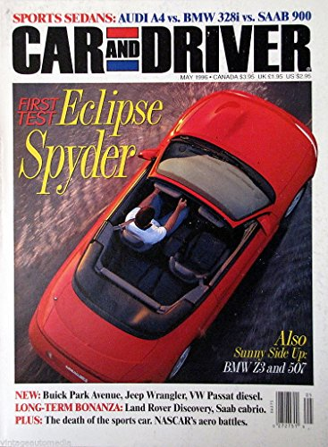 Car and Driver,  First Test: Eclipse Spyder - May 1996 ()