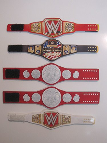 5 Custom Wrestling Championship Belts