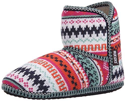 Muk Luks Womens Short X Fairisle Boot Bright