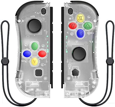 MINHUISHANGMAO NintendスイッチコンソールR25用ワイヤレスBluetooth左右ゲームコントローラーゲームパッド用NintendスイッチNSゲーム (色 : BT)