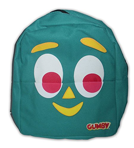 Gumby Face - Silver Buffalo GY0101BM Gumby Face 10 by 9-Inch Mini Backpack, Multi-Color