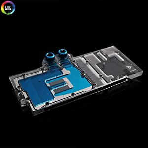 Barrow Copper GPU LRC LED WaterBlock for Zotac 2080Ti 2080 2070 (for Zotac RTX2080Ti 11GD6 / AMP Extreme)