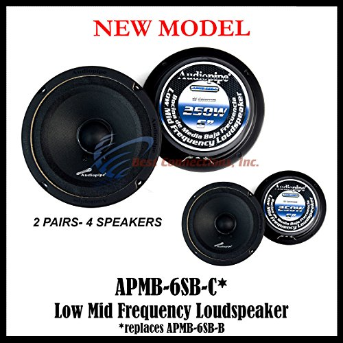 6 inch mid range speakers - 9