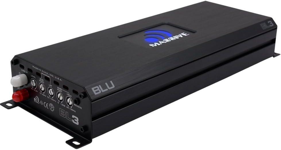Massive Audio BL4 Nano Blu 4000w Mono Block Amplifier