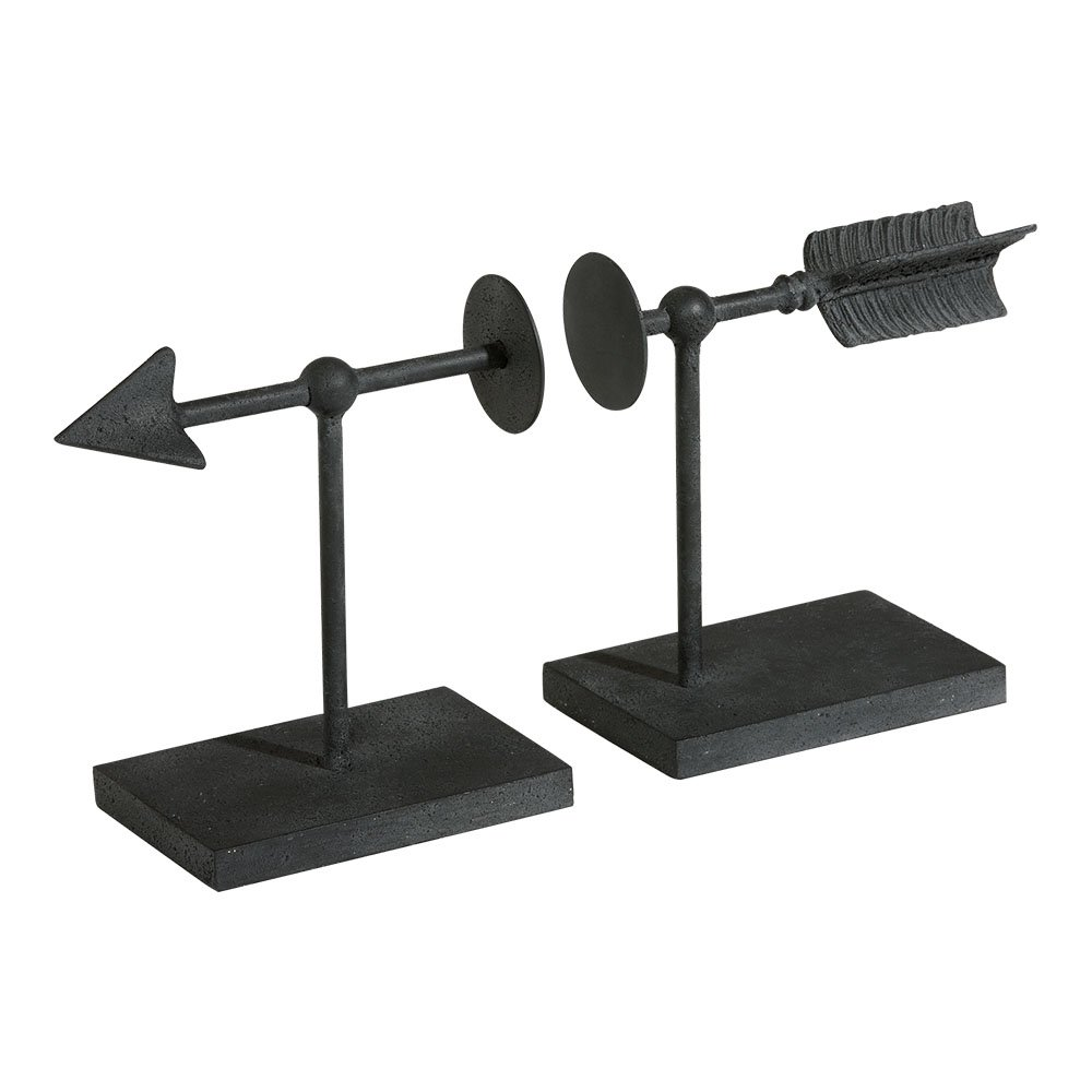 Ethan Allen Arrow Bookend Set