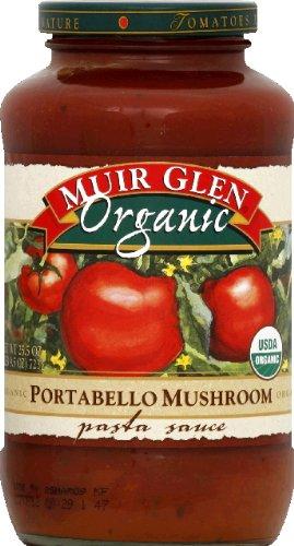 Portabella Pasta Mushroom (Muir Glen Organic Portabello Mushroom Pasta Sauce, 25.5 Ounce - 12 per case.)