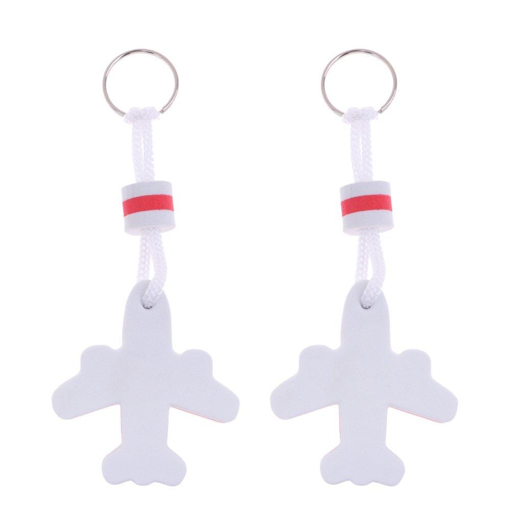 KODORIA 2 llaveros flotantes de avión, Llavero de Avena ...