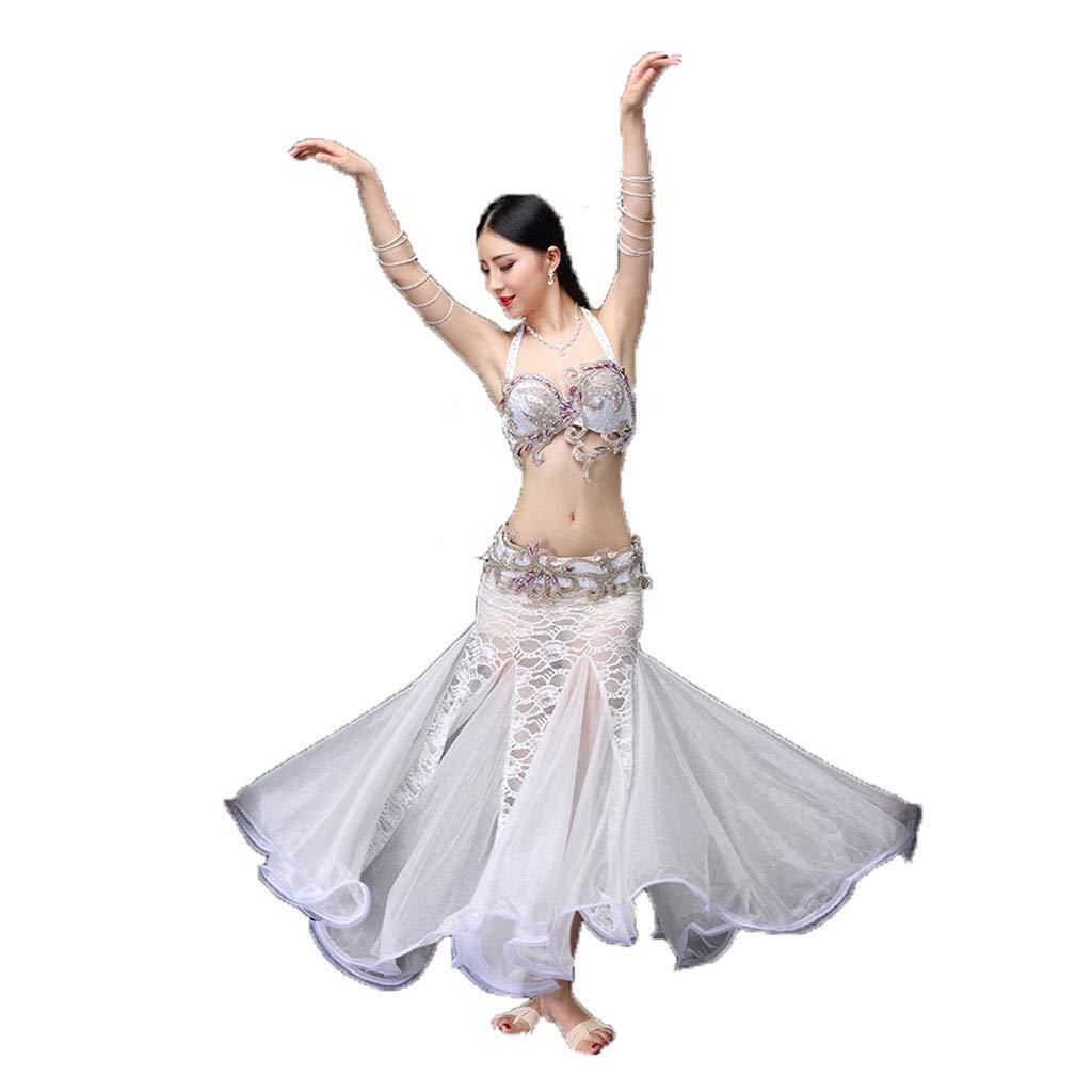 65%OFF【送料無料】 ベリーダンスの衣装の女性の大人の長いスカートのスーツスリーピースのパフォーマンスの服 XL|白 B07PHQ18N2 B07PHQ18N2 XL|白 白 白 XL, スキップハウス:58d86477 --- a0267596.xsph.ru