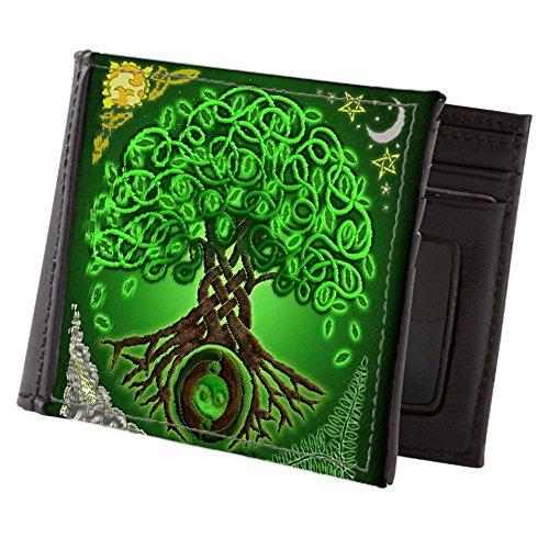 Celtic Circle Life (CafePress - Circle Celtic Tree Of Life - Mens Wallet, Bi-fold Wallet, Billfold Money Holder)