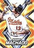2017 Topps Fire #134 Manny Machado Baltimore Orioles Baseball Card