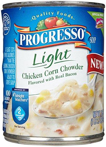 Progresso Light Soup - Chicken Corn - 18.5 oz