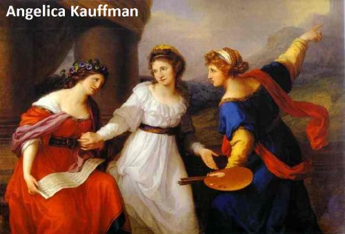 56 Color Paintings of Angelica Kauffman - Austrian Neoclassical Painter (October 30, 1741 - November 5, ()