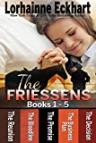 The Friessens Books 1 - 5: A Big Family Romance Series (The Friessen Legacy Book 3)