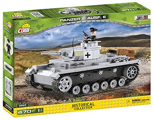COBI Historical Collection Panzer III Ausf. E Tank (Panzer Tank)