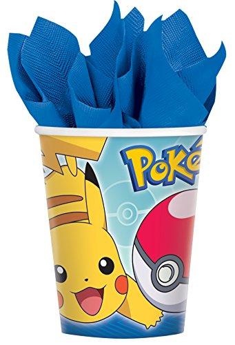 Pokemon Core Cup 9oz 8ct [contains 6 Manufacturer Retail Unit(s) Per (Pokemon 9 Ounce Cups)