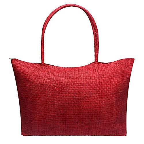 Color Crossbody Straw Handbag Candy Beach Casual Bag Messenger Satchel Large Robemon Women C Shoulder Fashion Simple OqUtwSfPwx