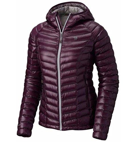 Mountain Hardwear Ghost Whisperer Down Hooded Jacket - Women's Dark Tannin Large (Ghost Whisperer Down Jacket)