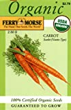Search : Ferry-Morse Organic Carrot Scarlet Nantes Type Seeds