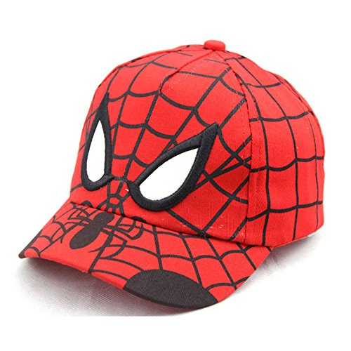 Atickbase New Children's Caps, Cartoon Sun Caps, Spiderman, Baseball Caps