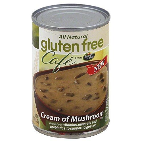 Gluten Free Cafe Gluten-Free Cream of Mushroom Soup, 15 oz, 3 ()