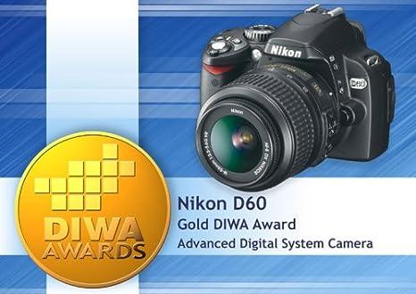 Nikon D60 - Cámara Réflex Digital 10.2 MP (Cuerpo): Amazon.es ...