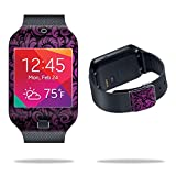 samsung galaxy gear 2 neo case - MightySkins Protective Vinyl Skin Decal Cover for Samsung Galaxy Gear 2 Neo Smart Watch wrap sticker skins Purple Style