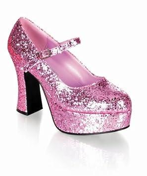 Par PlataformaEl Brillo Zapatos 1 Color De RosaTamaño39 xBCrode
