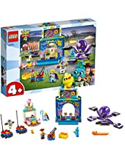 LEGO 10770 4+ Toy Story 4 Buzz and Woody's Carnival Mania! with Buzz Lightyear and Woody Minifigures, Multicolour