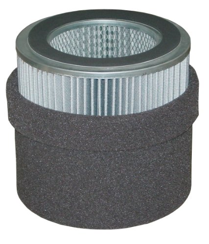 Solberg 245P Polyester Filter Element, 9-5/8'' Height, 4-3/4'' Inner Diameter, 7-7/8'' Outer Diameter, 880 SCFM by Solberg