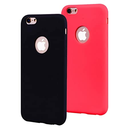 EuCase 2X Funda iPhone 6s Silicona Carcasa iPhone 6 ...