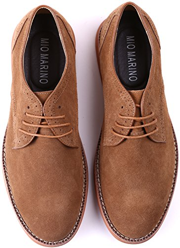 Shoes Marino Casual for Suede Shoes Business Men Dress Oxford Sand BnCnv