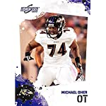 d8574c8fa Michael Oher football card (Baltimore Ravens Blind Side) 2010 Score  23  Rookie... Autograph Warehouse