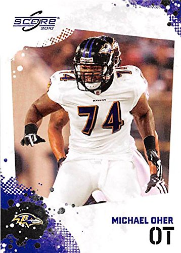 Michael Oher football card (Baltimore Ravens Blind Side) 2010 Score #23 Rookie Season