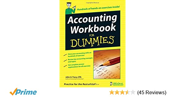 Accounting Workbook For Dummies: John A  Tracy: 9780471791454