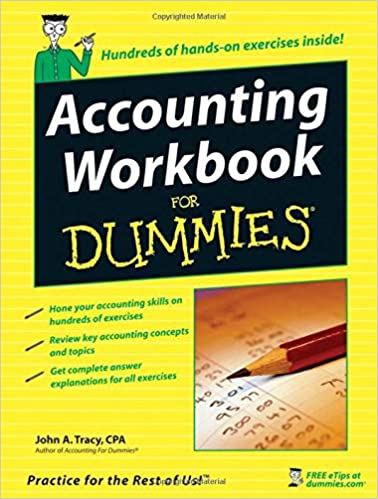Accounting Workbook For Dummies John A Tracy