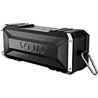 Vtin 20W Outdoor Bluetooth Speaker, Loud Volume, 30 Hours Playtime Portable Wireless Speaker, Waterproof, Dustproof, Shockproof for Indoor and Outdoor Activities - Shower, Pool, Beach, Car, Home