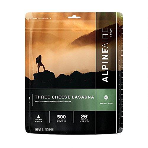 Alpine Aire Foods Three Cheese Lasagna (Serves 2)