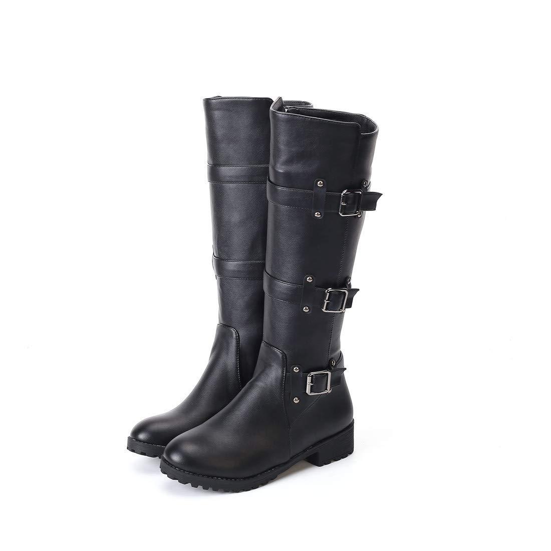 Stiefel   Stivaldie Ritter Frauen   niedrighackige und hoch Geschnittene Stiefel