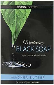 Coastal Scents Moisturizing Black Soap with Shea Butter Bar (AS-012)