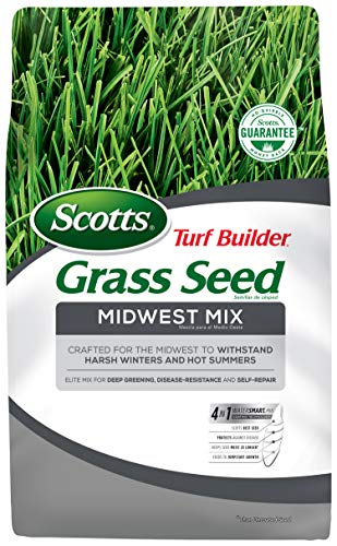 Scotts Turf Builder Grass Seed - Midwest Mix, 7-Pound (Not Sold in CA, LA)