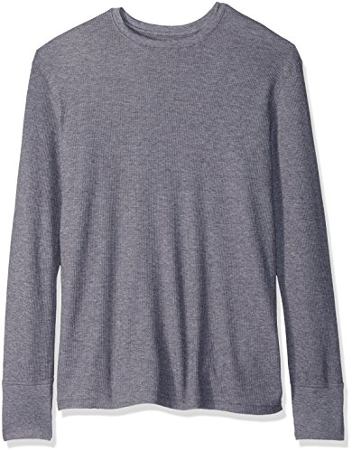 Fruit of the Loom Men's Premium Natural Touch Thermal Top, Charcoal Grey Heather, Large