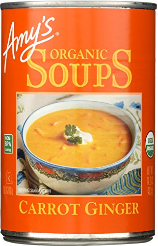 (Amy's Soups, Carrot Ginger )