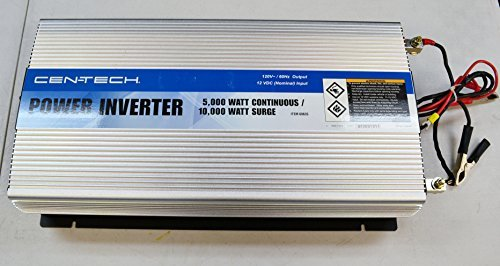 Cen-Tech 60635 5000-Watt Continuous/10,000-Watt Peak Power Inverter