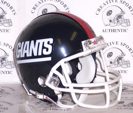 New York Giants - Throwback 1981-1999 (GIANTS) - Riddell Mini Helmet]()