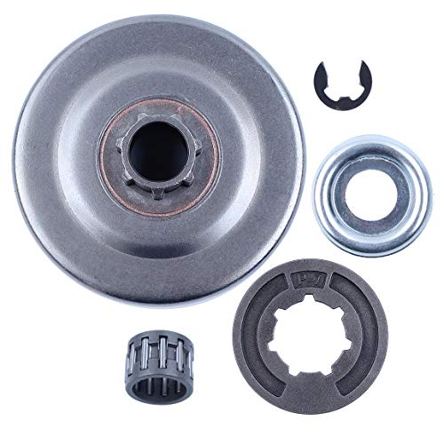 Haishine Clutch Drum P7 Sprocket Rim Needle Bearing Washer Kit Fit STIHL MS170 MS180 MS250 MS251 017 018 021 023 Chainsaw Parts