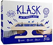 KLASK: The Magnetic Award-Winning Party Game of Skill That's Half Foosball, Half Air Hockey
