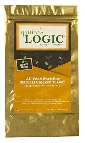 Natures Logic Natural - Nature'S Logic All Food Fortifier Natural Chicken Flavor, 22Oz