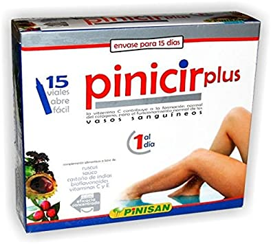 PINISAN - PINICIR PLUS 15 vial PINISAN: Amazon.es: Salud y cuidado ...